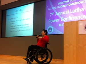 Carolina as Key Note Speaker for Latinas Leading Tomorrow conference